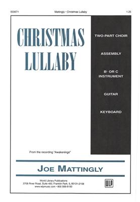 Christmas Lullaby.Christmas Lullaby Choral Keyboard Guitar